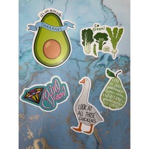 5 Cute Text Stickers 🌴